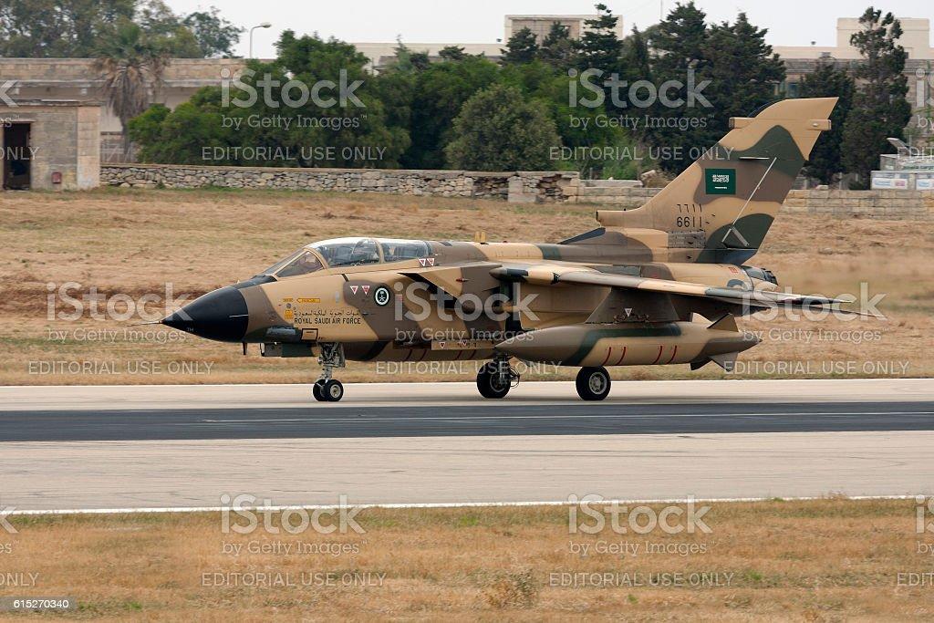Saudi Arabian Tornado stock photo
