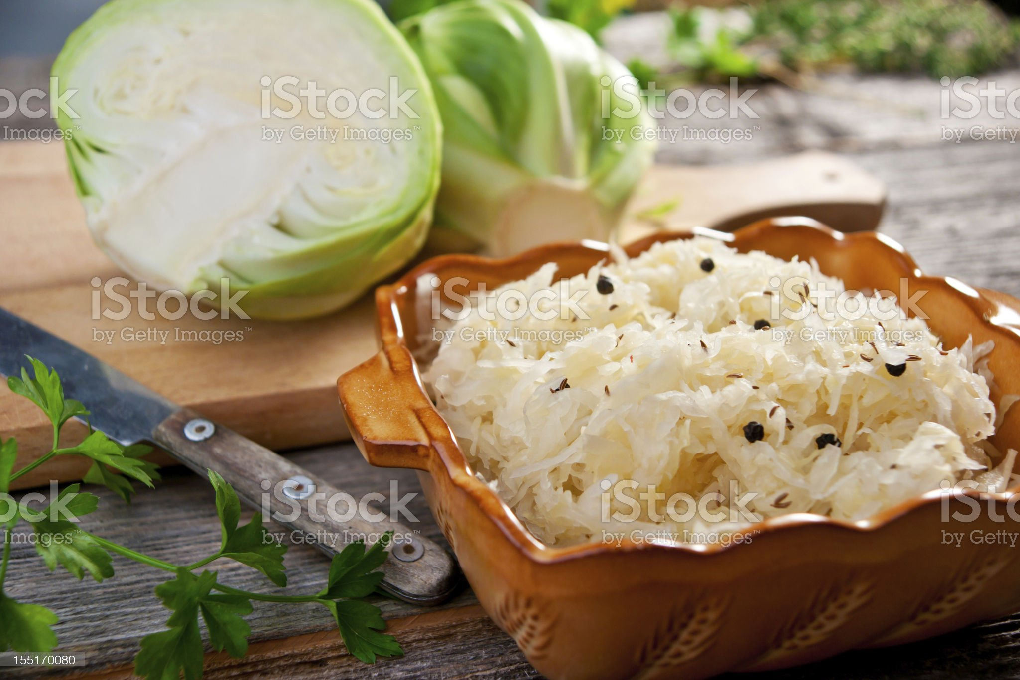 Sauerkraut royalty-free stock photo