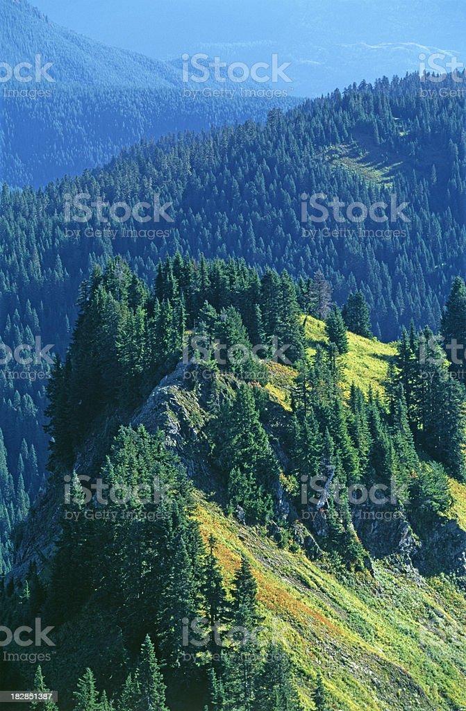 Sauk Mountain royalty-free stock photo