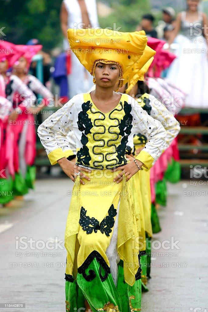 Saulug de Tanjay Dancers stock photo