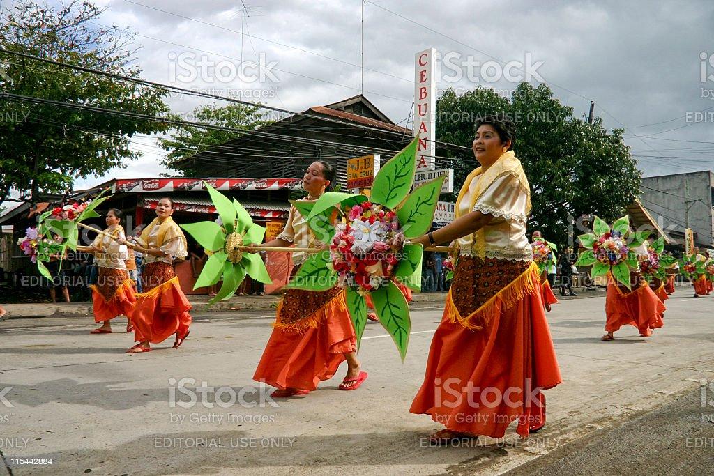 Saulug de Tanjay Parade stock photo