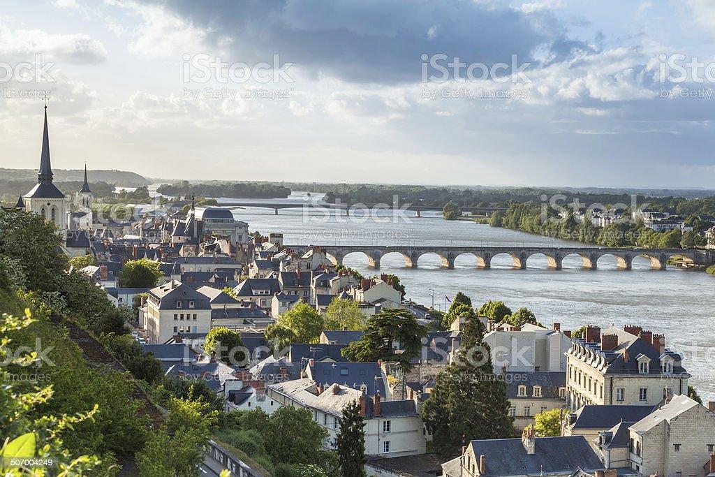 Saumur stock photo