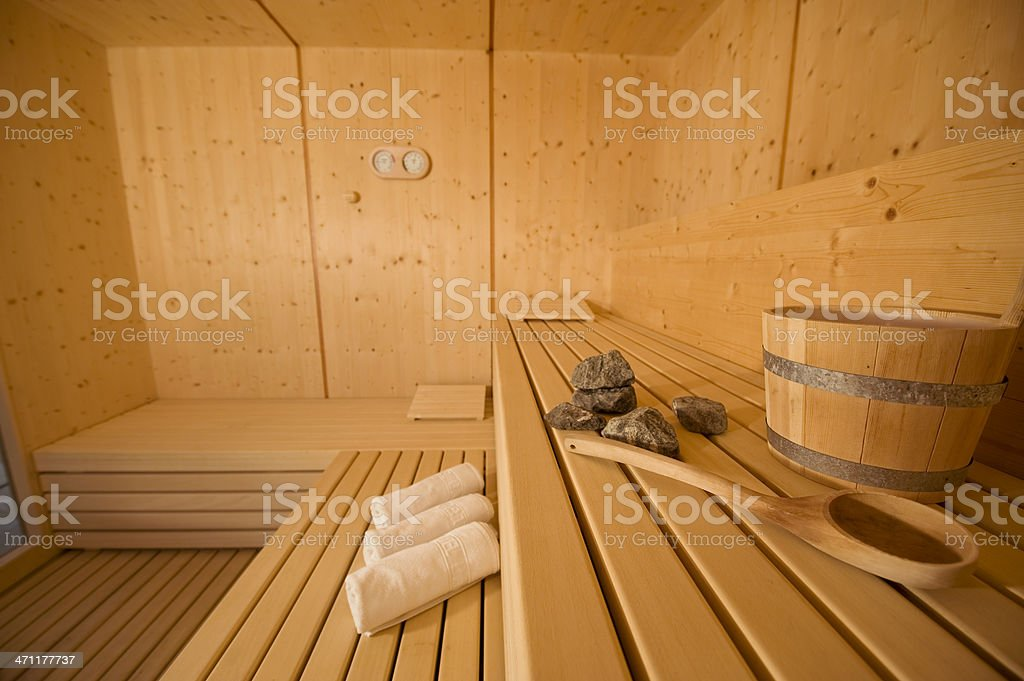 sauna and massages stock photo