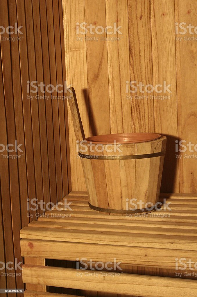 Sauna royalty-free stock photo