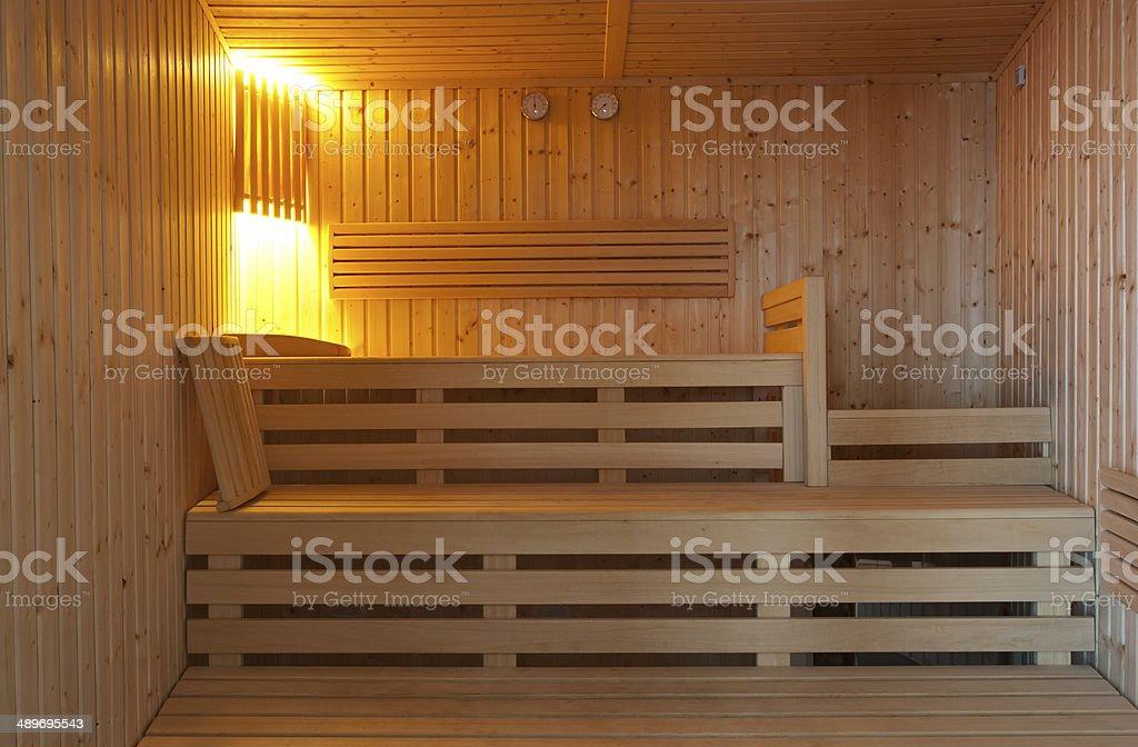 Sauna foto de stock libre de derechos