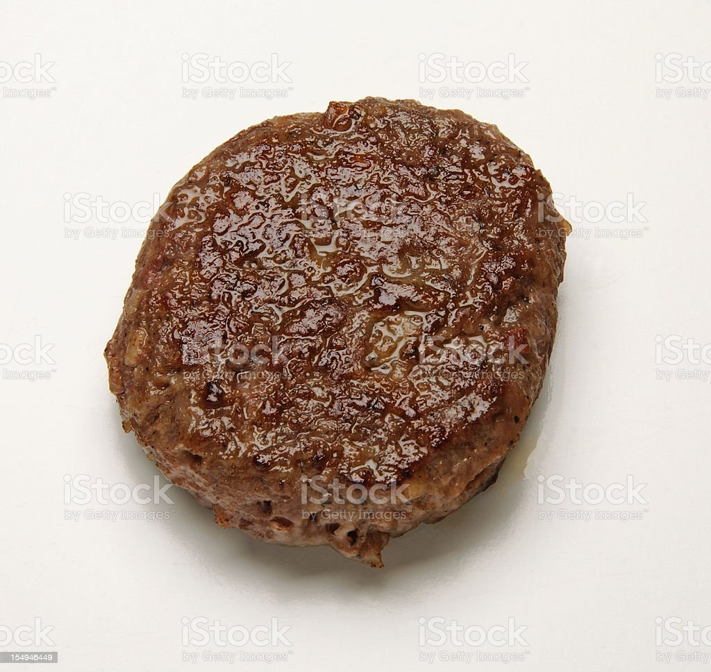 Sausage Patty stock photo