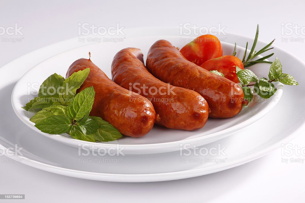 Sausage royalty-free stock photo