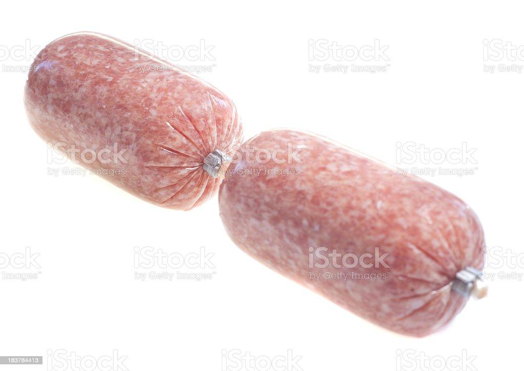 sausage - Zwiebelwurst royalty-free stock photo