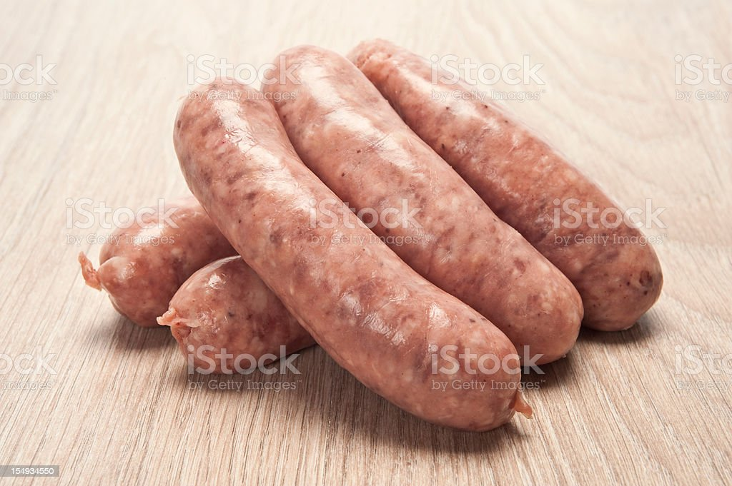Sausages royalty-free stock photo