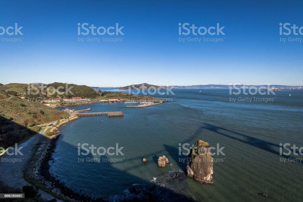 Sausalito Harbor - San Francisco, California, USA stock photo