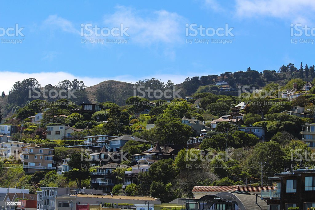 Sausalito stock photo