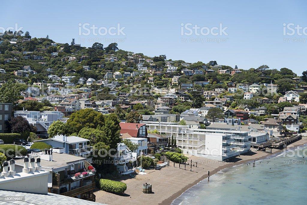 Sausalito San Francisco Bay Area stock photo