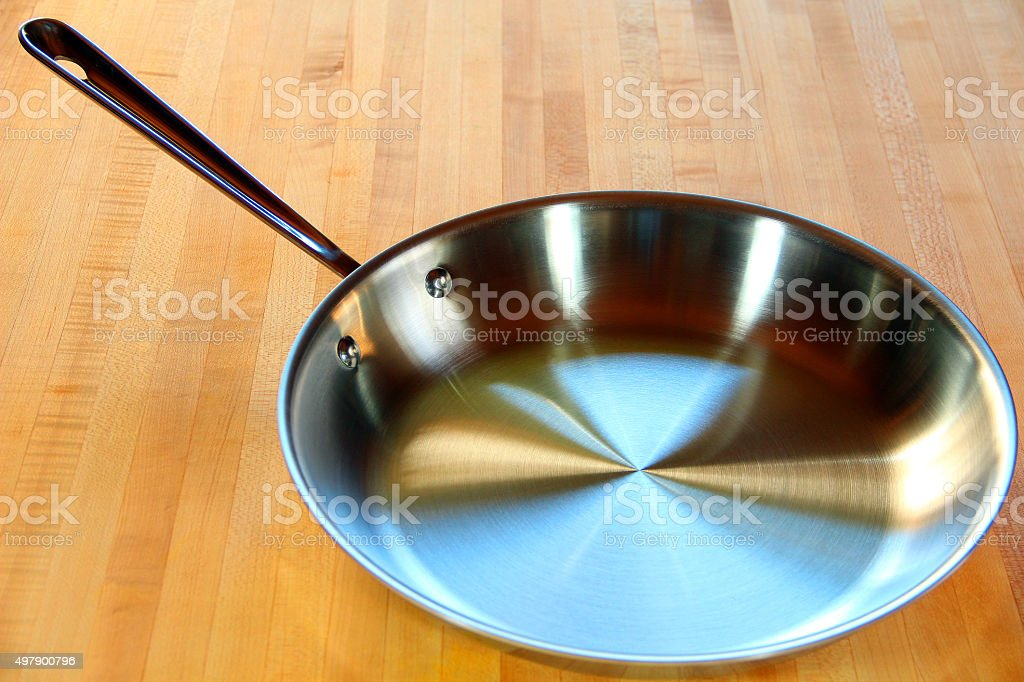 Saute Pan stock photo