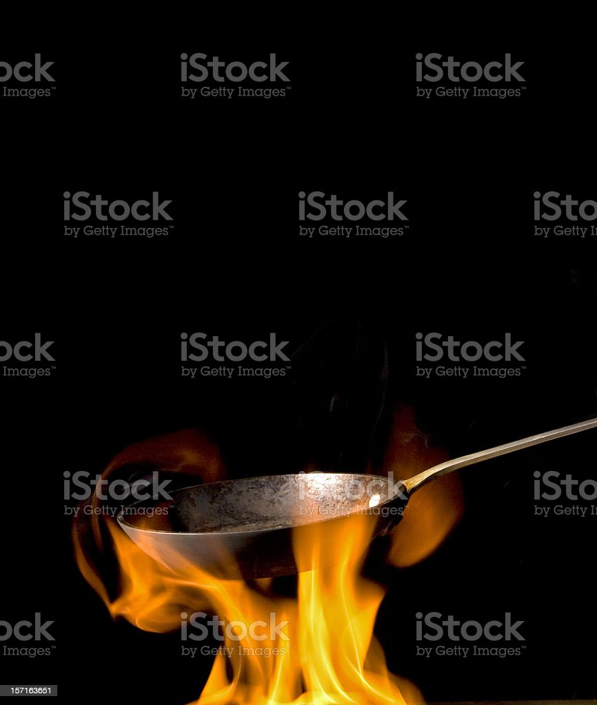 Saute royalty-free stock photo