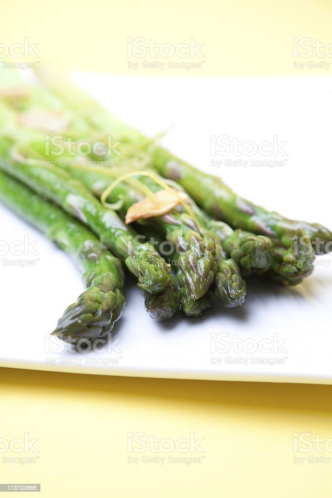 Sauteed Asparagus royalty-free stock photo