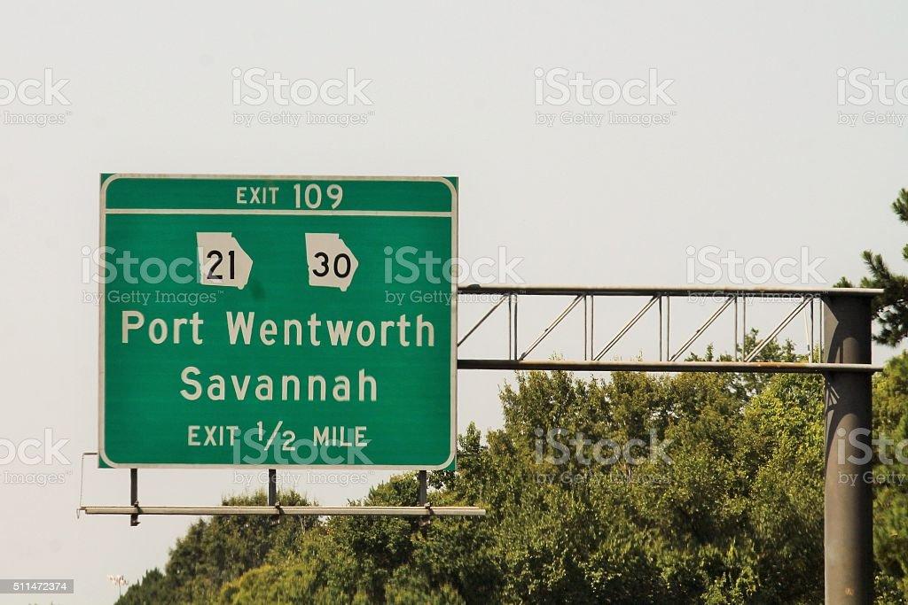 Savannah, Georgia stock photo