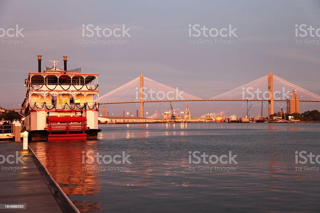 Savannah River royalty-free stock photo