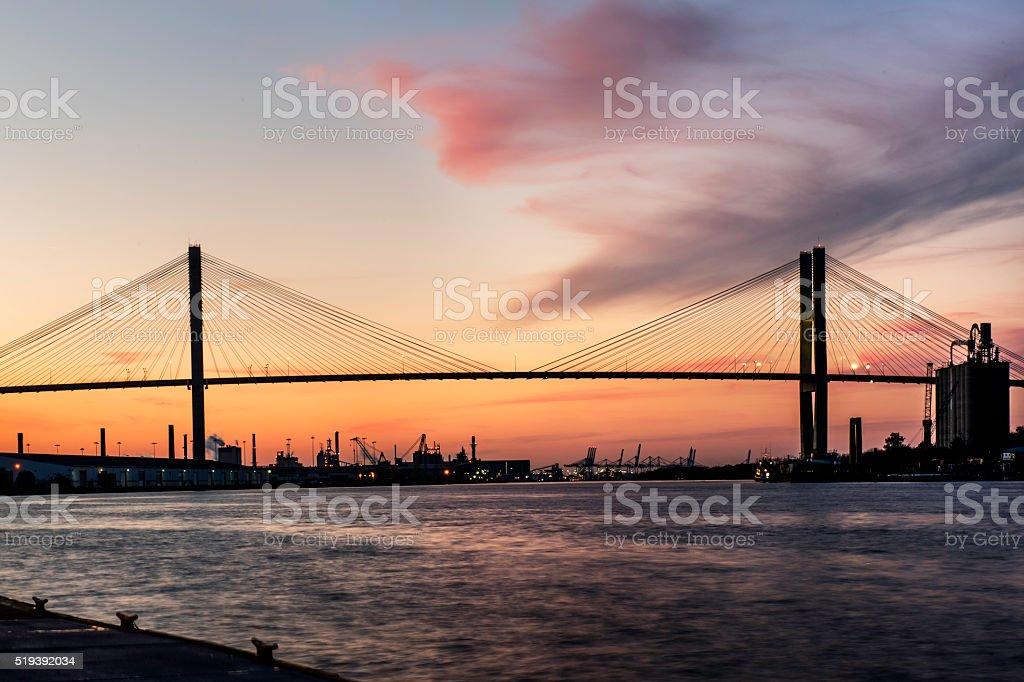 Savannah River stock photo