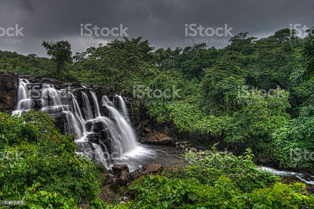 Savdav Falls stock photo