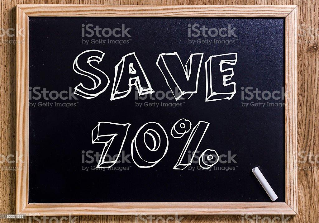Save 70% stock photo