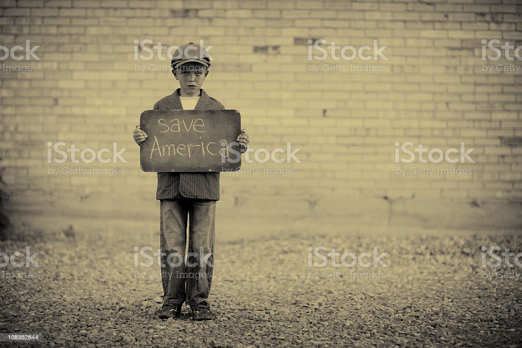 Save America royalty-free stock photo