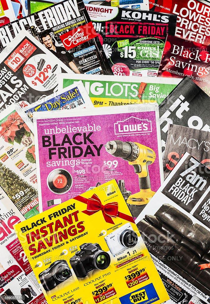 Save Big on Black Friday royalty-free stock photo