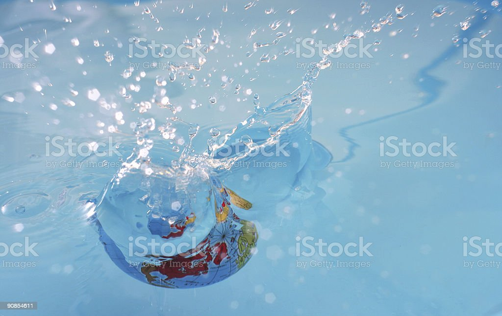 Save clean water stock photo