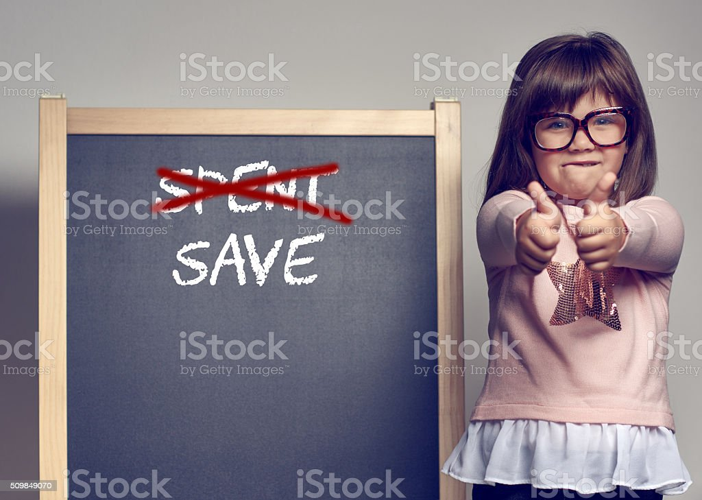 save, don't spent stock photo