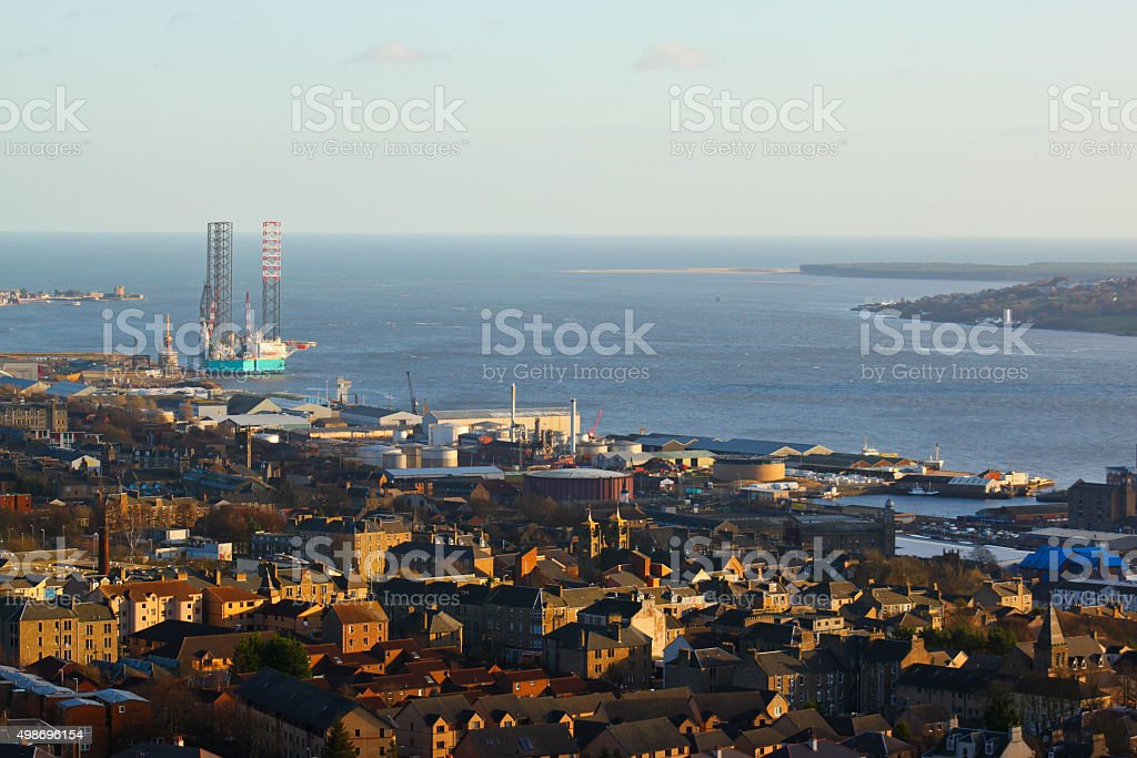 Save Download Preview View of Dundee stock photo