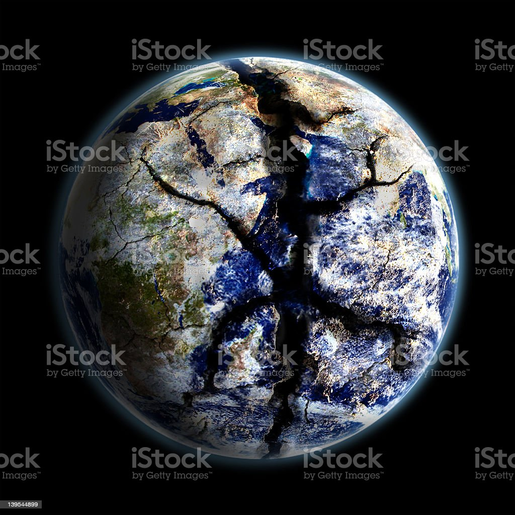 Save Earth royalty-free stock photo