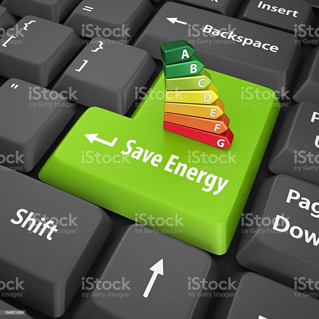 save energy stock photo