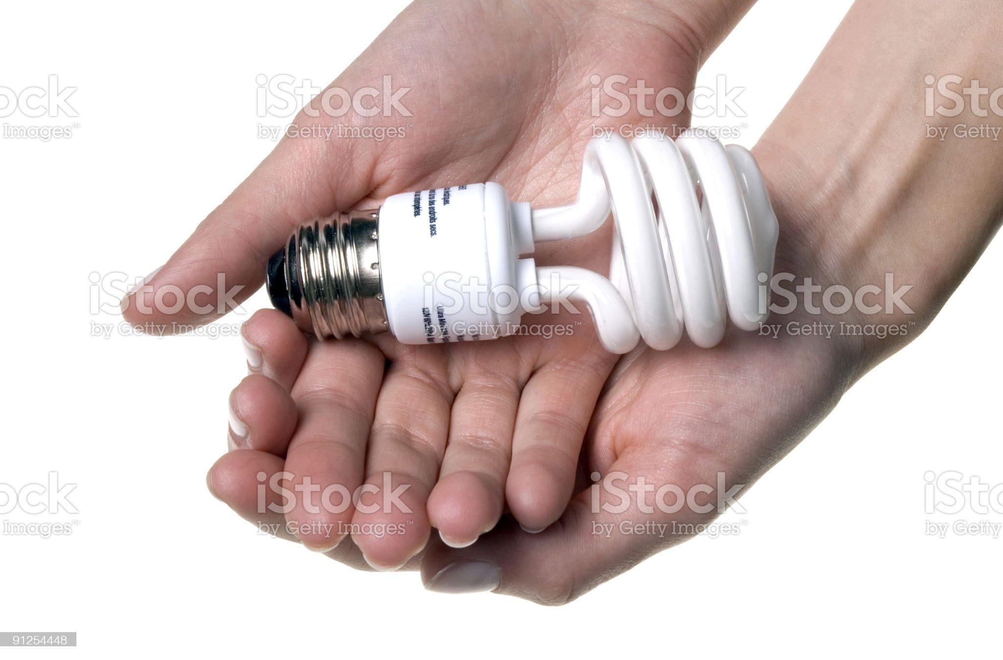 Save energy !!! royalty-free stock photo