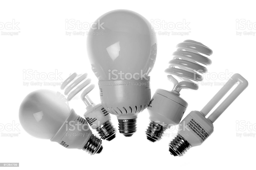 Save energy !!! stock photo