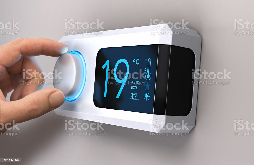 Save Energy, Reducing Electricity Use stock photo