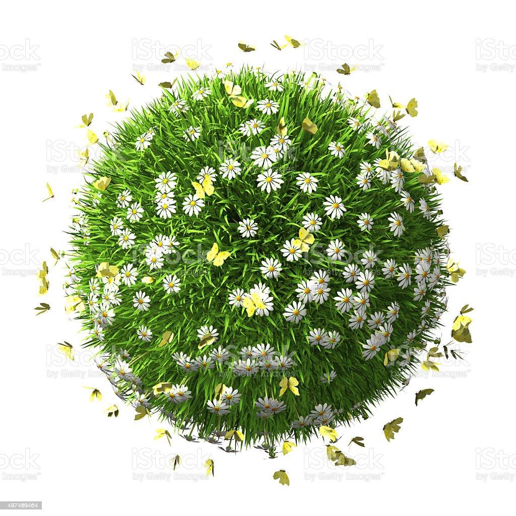 Save Green World stock photo