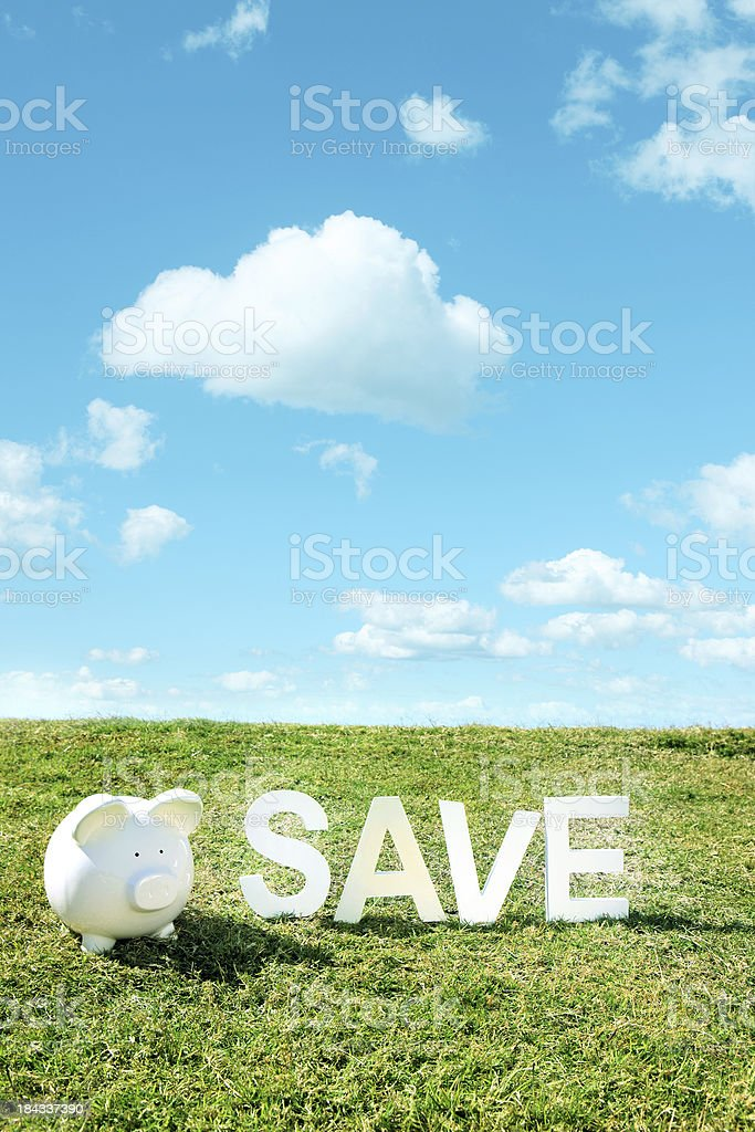 Save in Summer stock photo