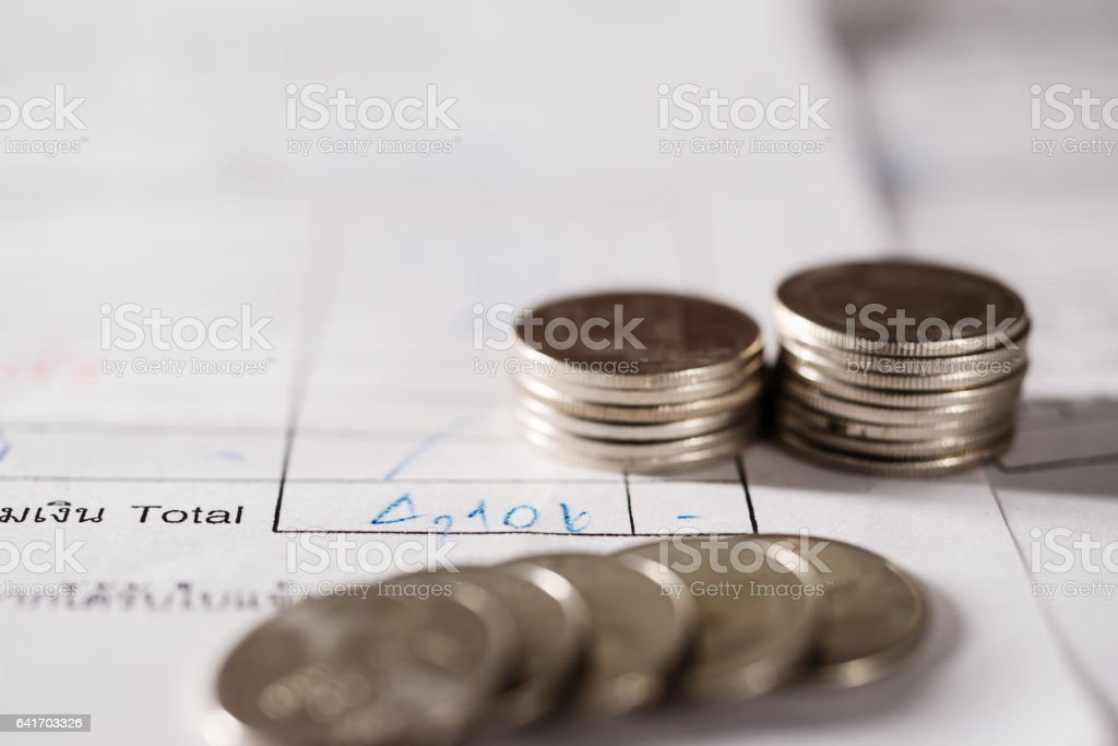 Save money and banking for prepare concept stock photo