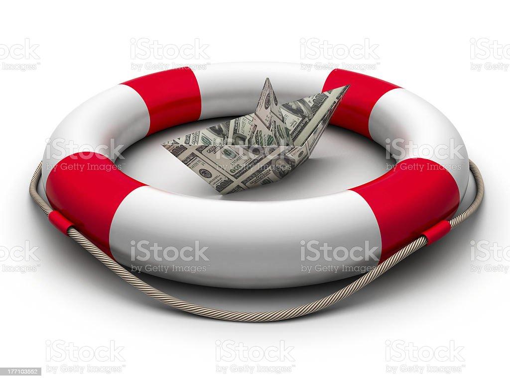Save money stock photo