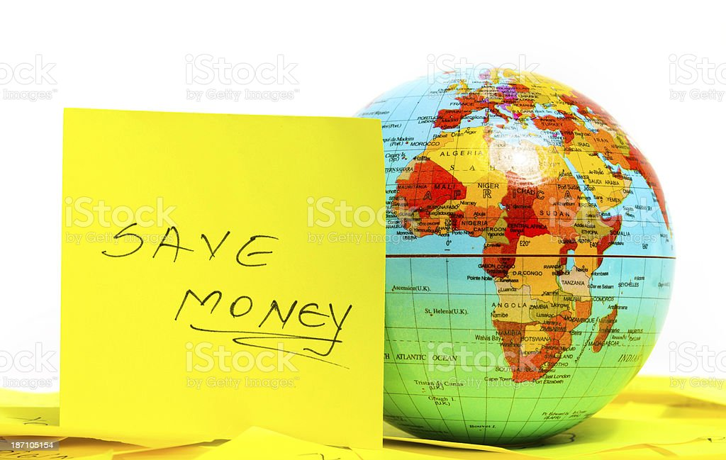 save money royalty-free stock photo