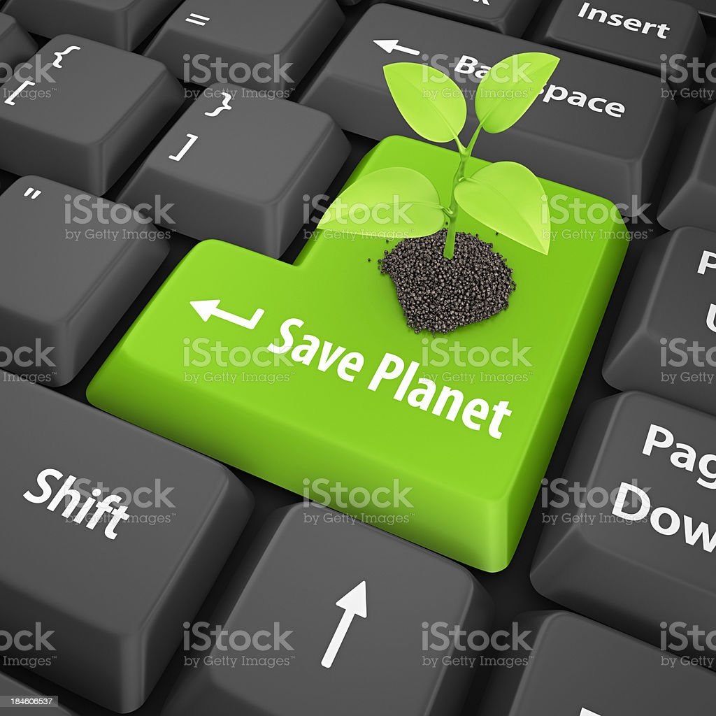 save planet royalty-free stock photo