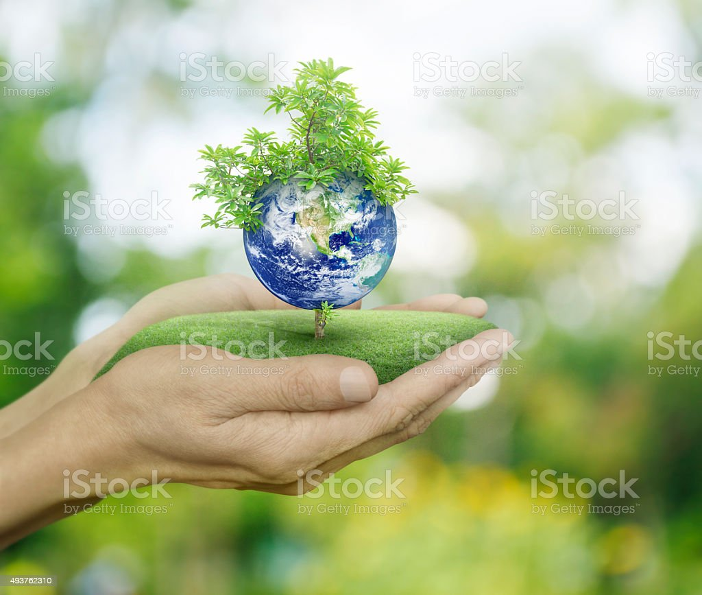 Save the earth, Elements of this image furnished by NASA stock photo