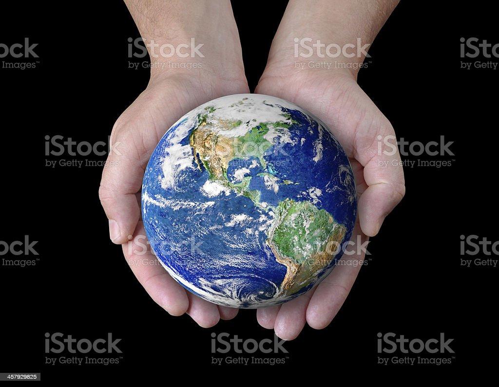 save the world stock photo