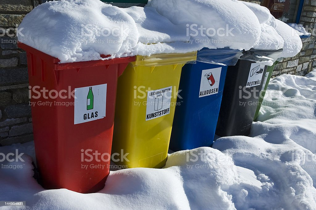 save the world stop pollution recycle bin royalty-free stock photo