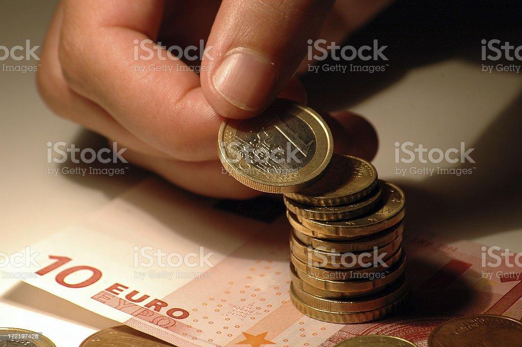 save up money royalty-free stock photo