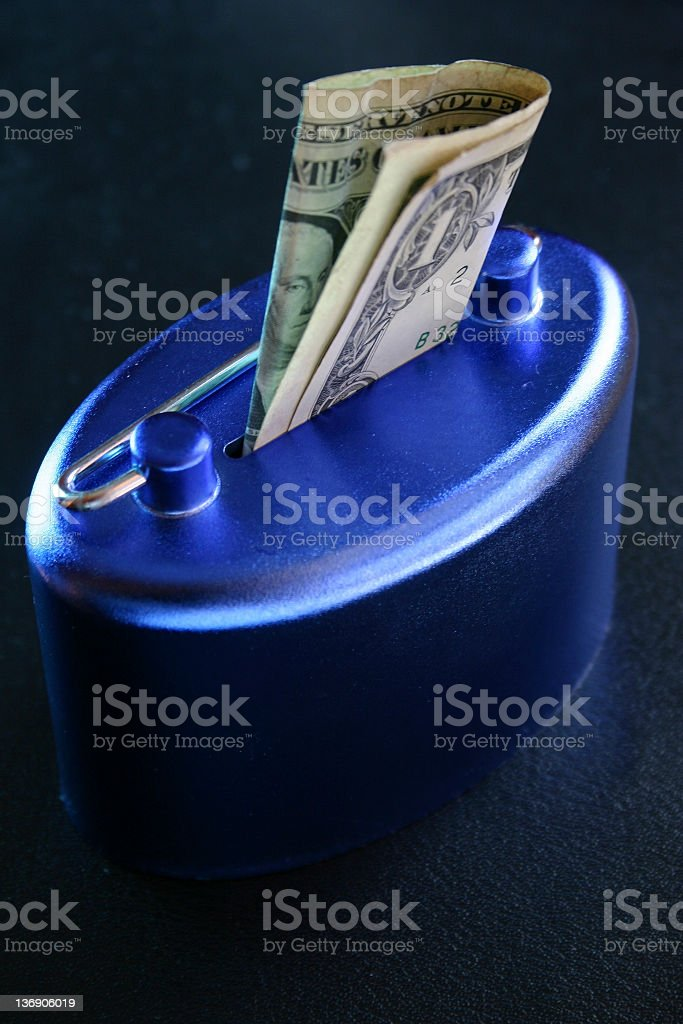 Save your money 3 royalty-free stock photo