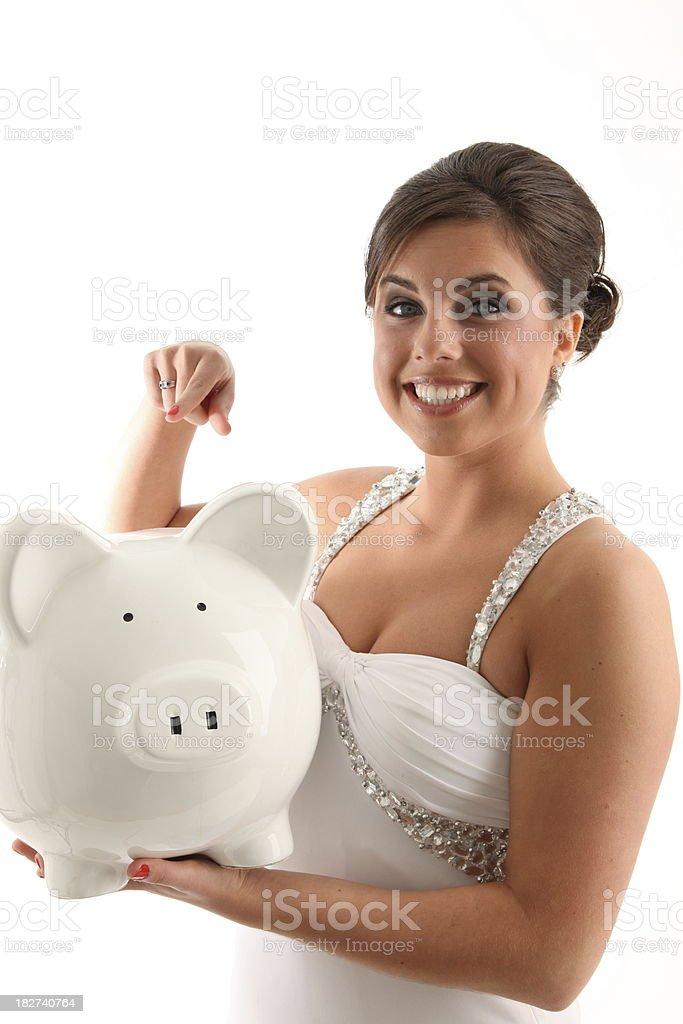 Guardar su dinero foto de stock libre de derechos
