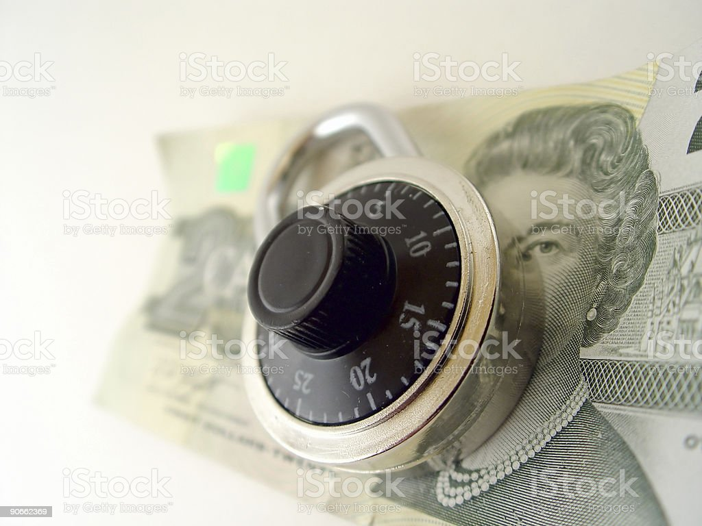 Save your Money royalty-free stock photo