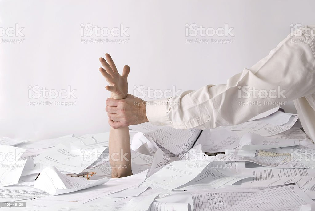 saved from drowning stock photo