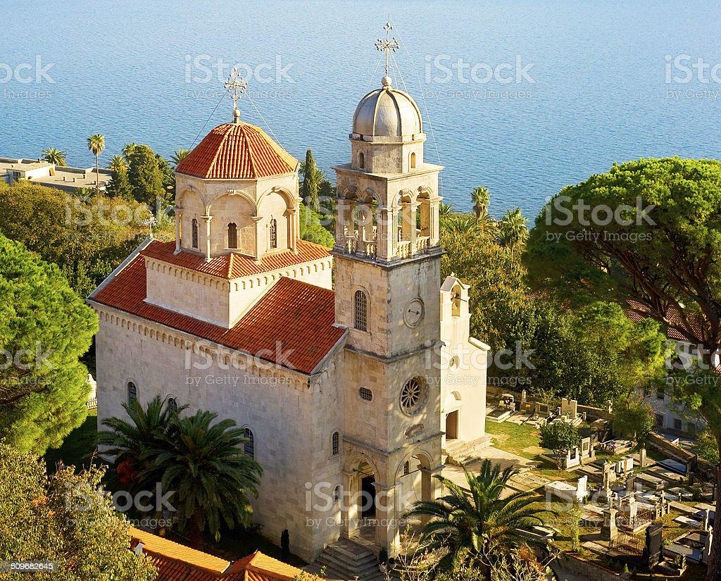 Savina Monastery stock photo