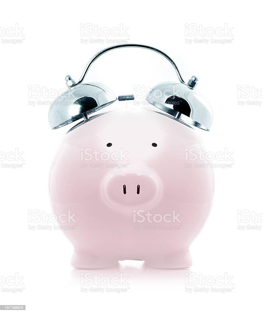 saving alarm royalty-free stock photo
